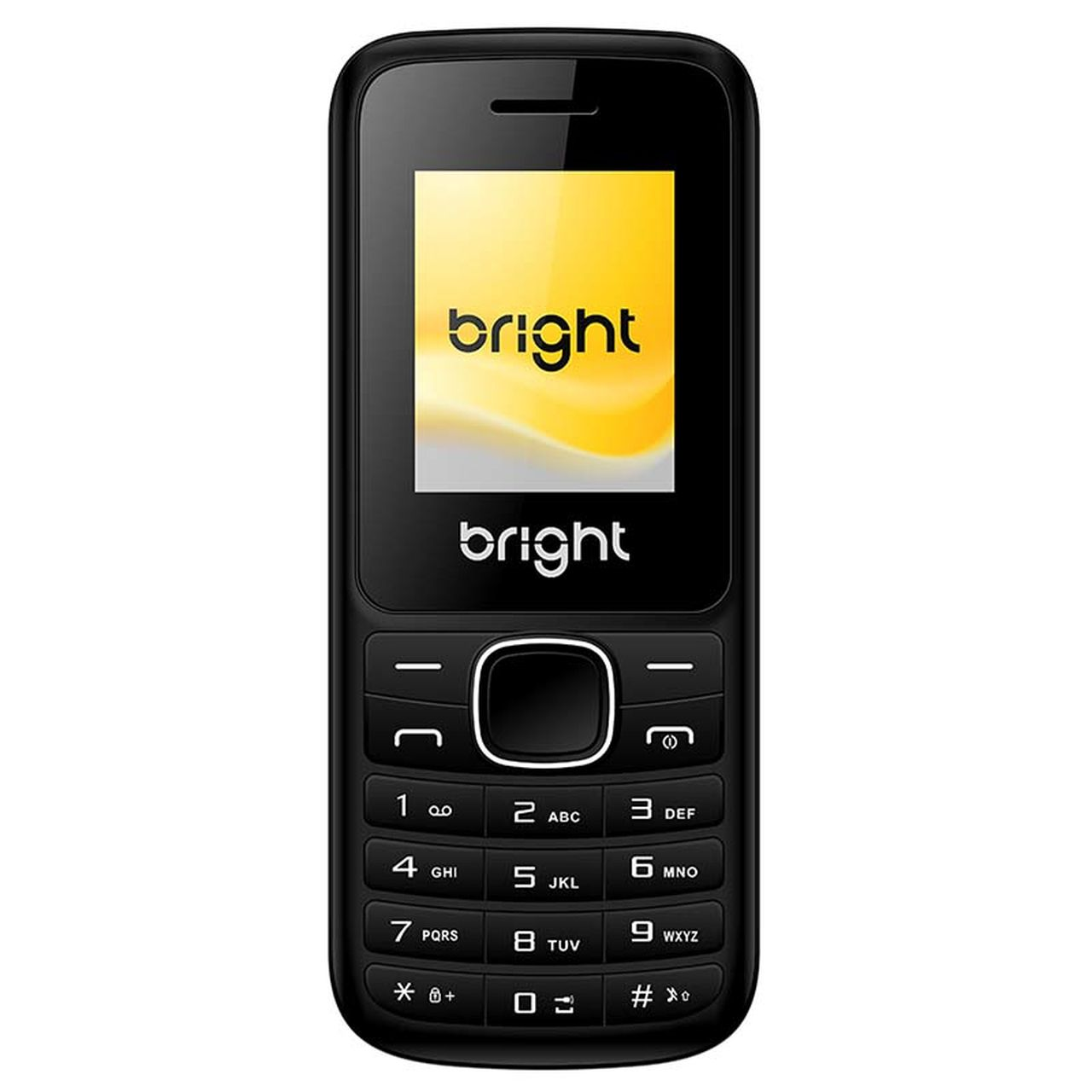 Celular Barra Dual Chip com Câmera Mp3 e Bluetooth Preto 405 Bright  - BRIGHT