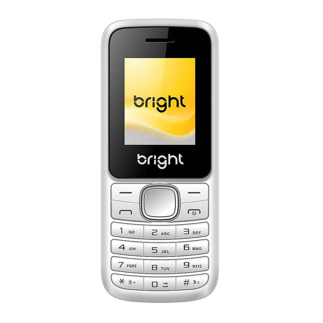Celular Barra Dual Chip com Câmera Mp3 e Bluetooth Branco 406 Bright