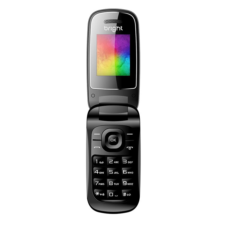 Celular Flip Dual Chip, Câmera, MP3 e Bluetooth 484 - Bright