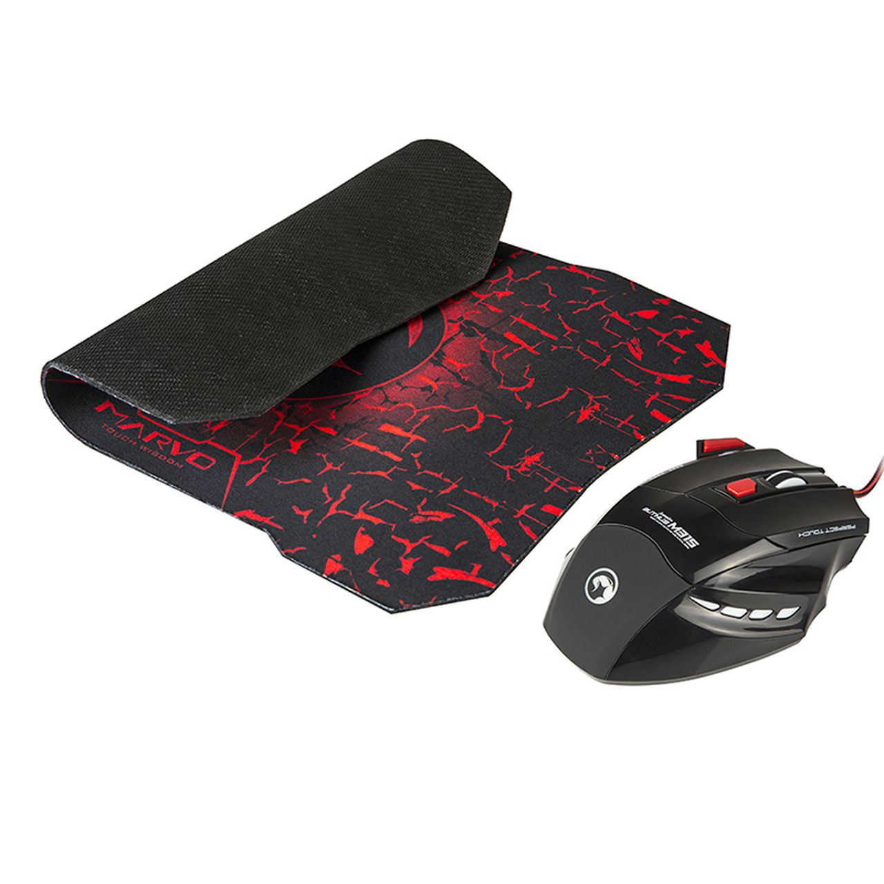 Combo Gamer Mouse e Mouse Pad M315G1 Scorpion