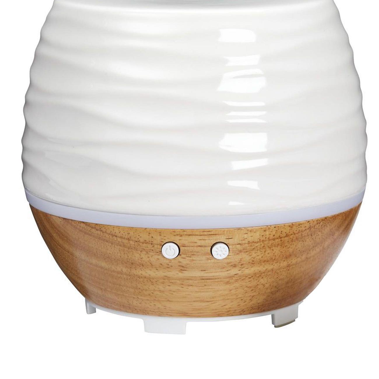 Difusor de aroma e umidificado ultrassônico 130ml Ellia