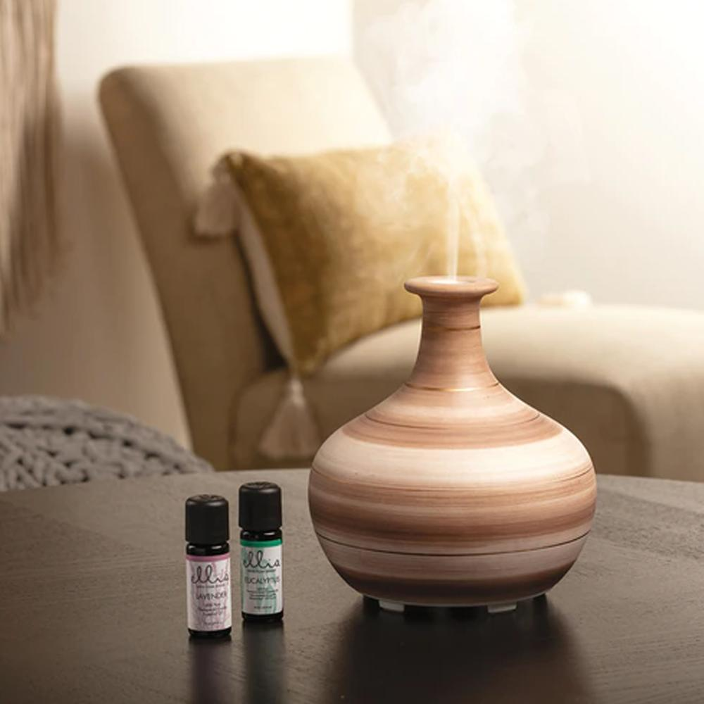 Difusor de aromas e umidificador ultrassônico Ellia 150ml