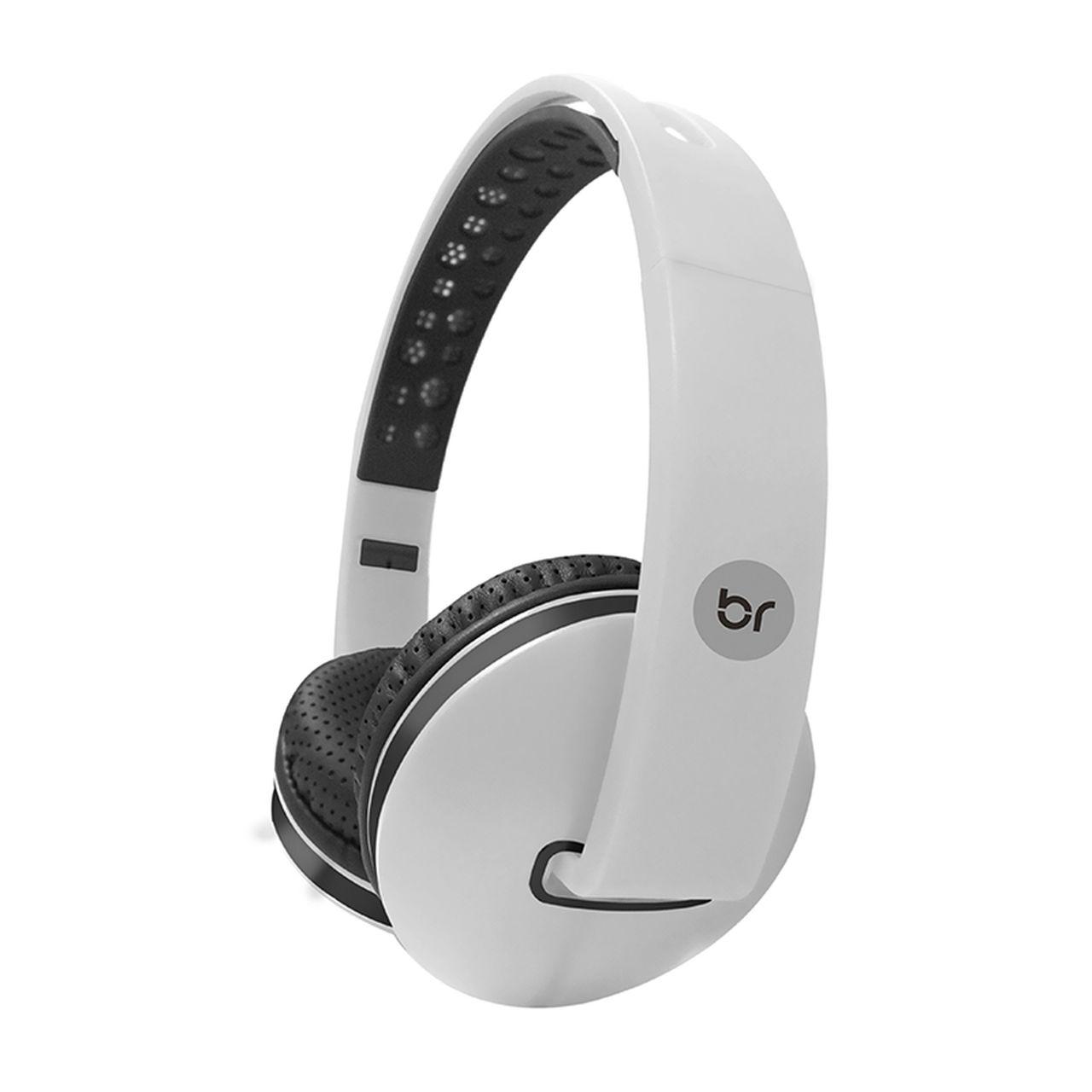 Fone de Ouvido Headphone Colors Branco 469 Bright