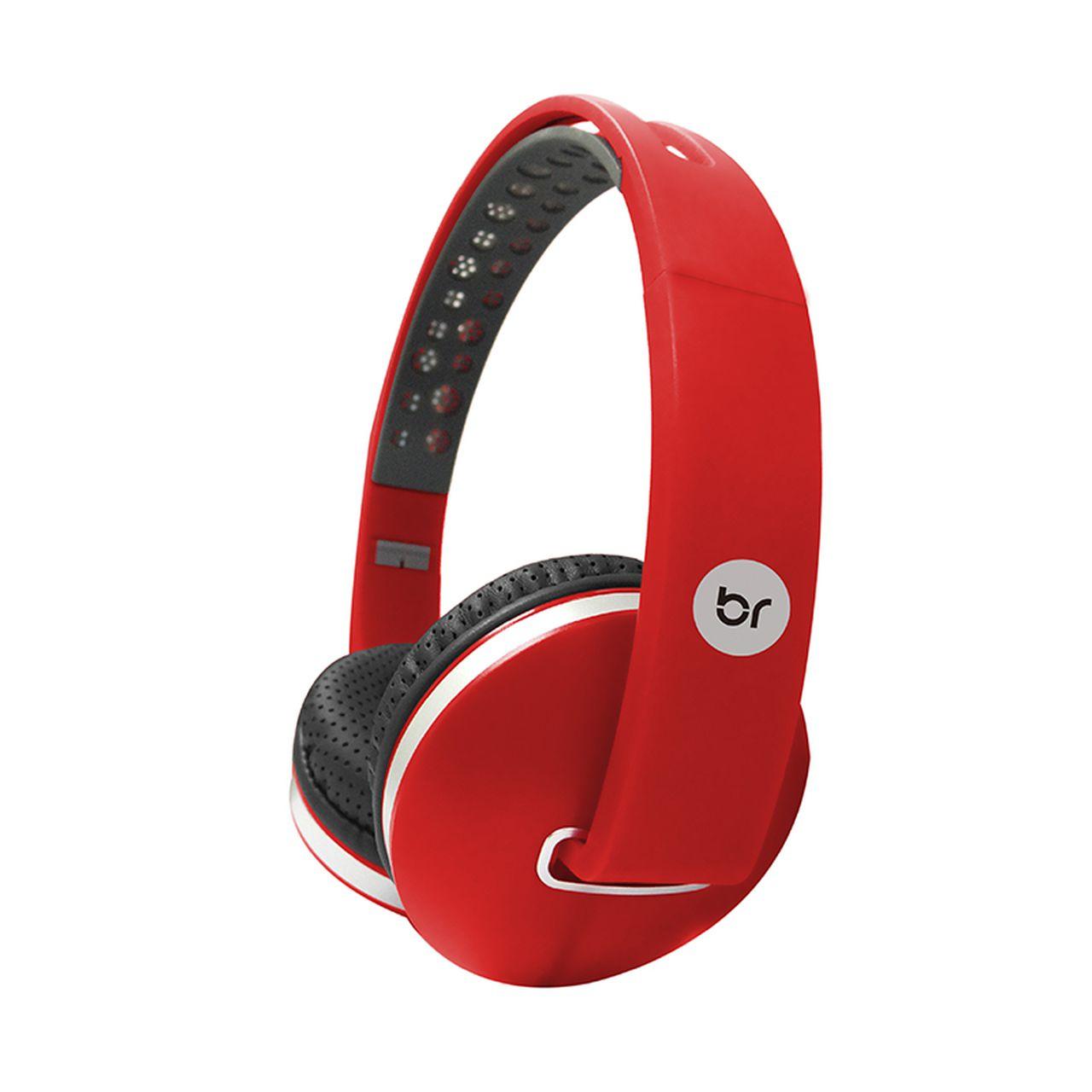 Fone de Ouvido Headphone Colors Vermelho Bright 471