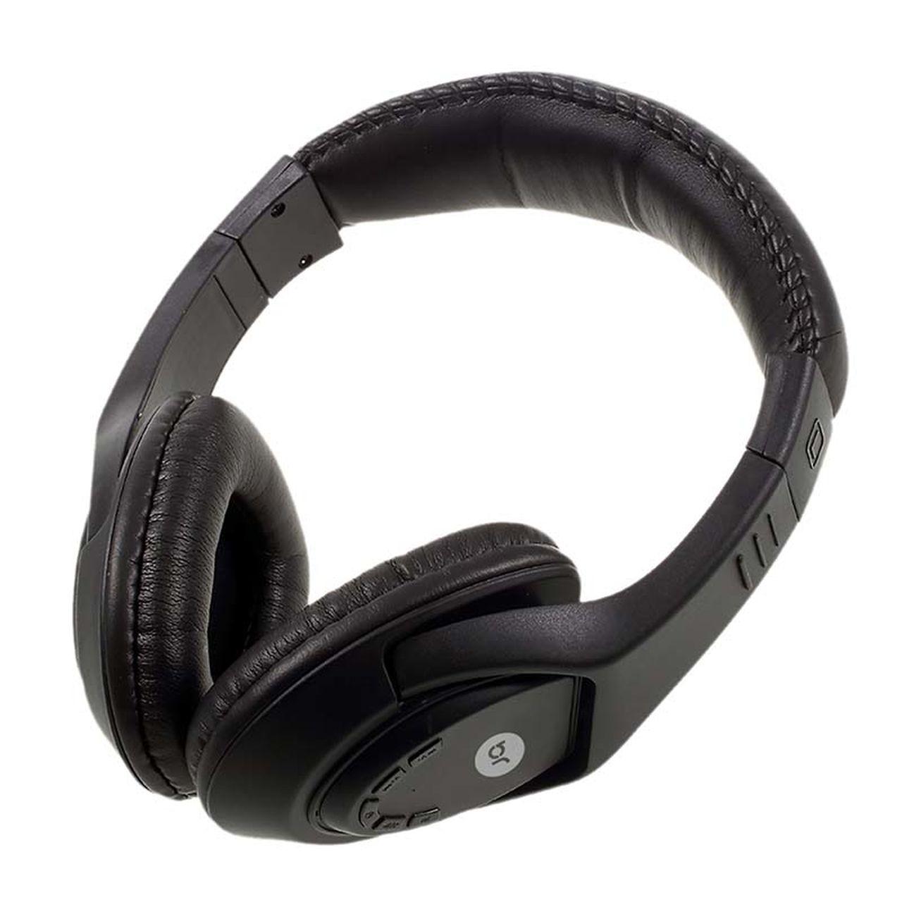 Fone de Ouvido Headphone Sem Fio Bluetooth entrada p/ cartão de memório + radio FM + microfone, 376 - Bright  - BRIGHT