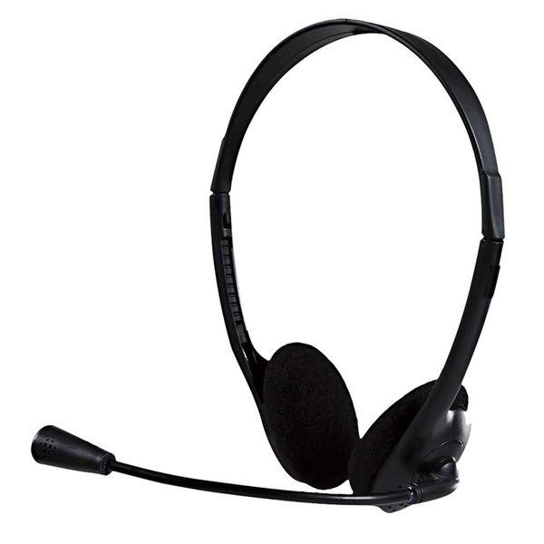 Fone De Ouvido Com Fio Headset Office Com Microfone Flexível P2 10 Bright  - BRIGHT