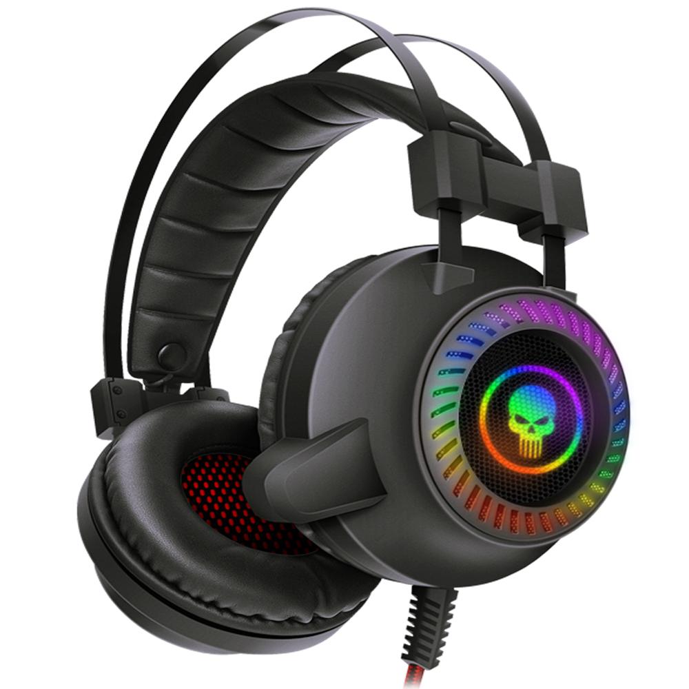 Headset Gamer USB 7.1 Surround Fone Com LED Bright  - BRIGHT