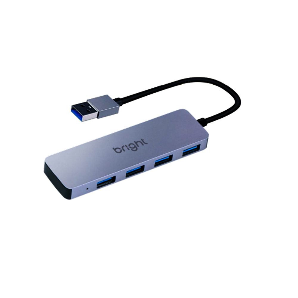 Hub 4 USB 4 portas Ultra Rápido 3.0  - BRIGHT