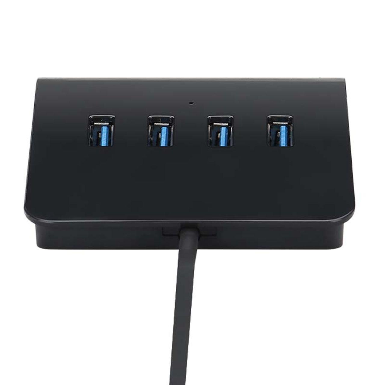 HUB Usb de Mesa com 4 Portas Com suporte para celular Bright