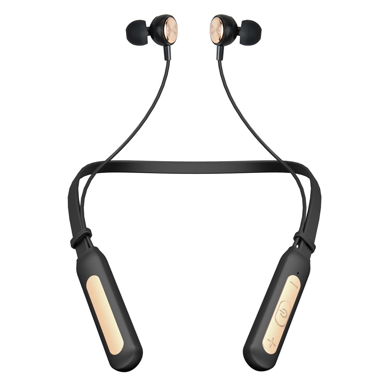 Kit 2 Fones de Ouvido S/fio Bluetooth Sport Preto 510 Bright  - BRIGHT
