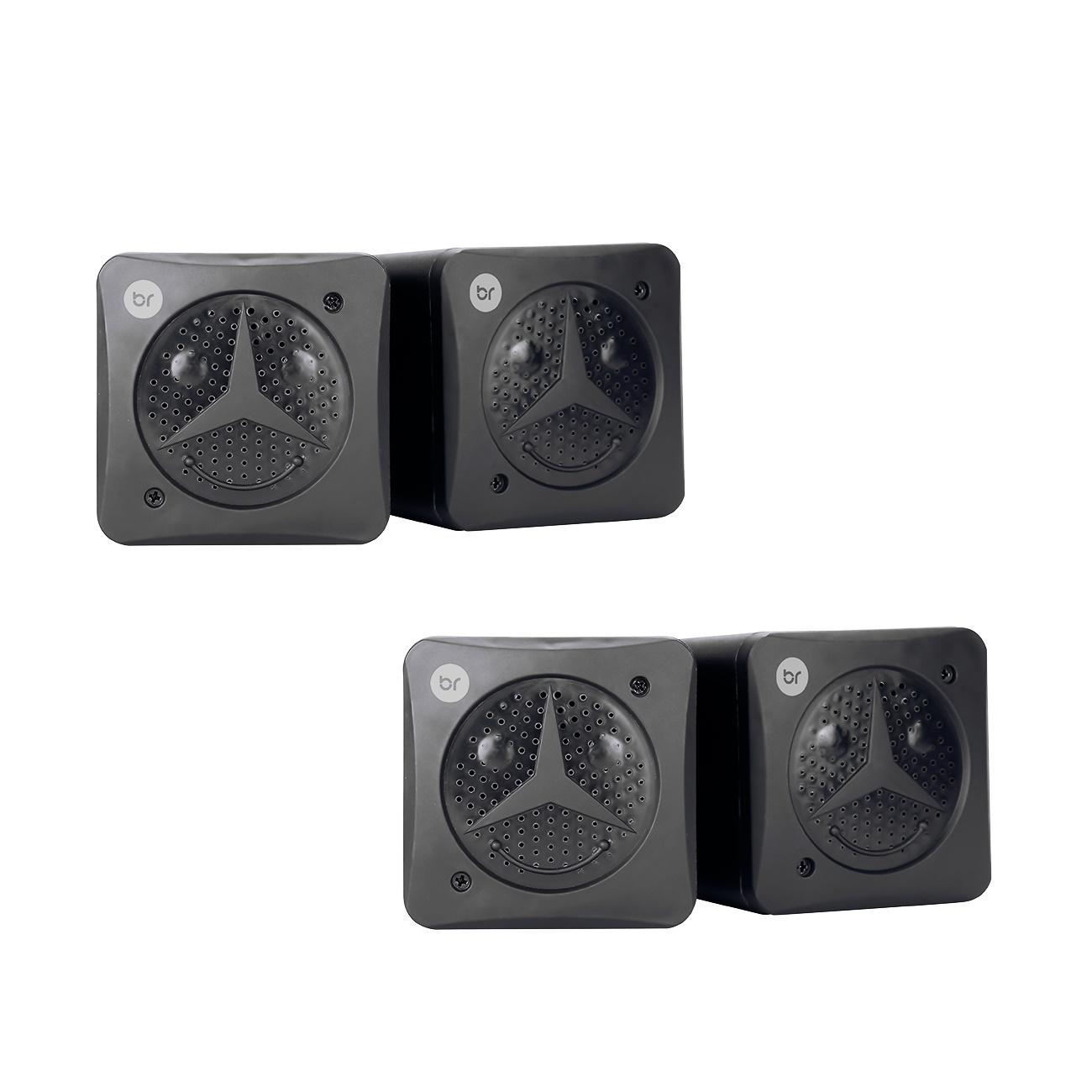 Kit 2 Mini Caixas de Som Portátil 5W Usb P2 Pc Notebook 0359