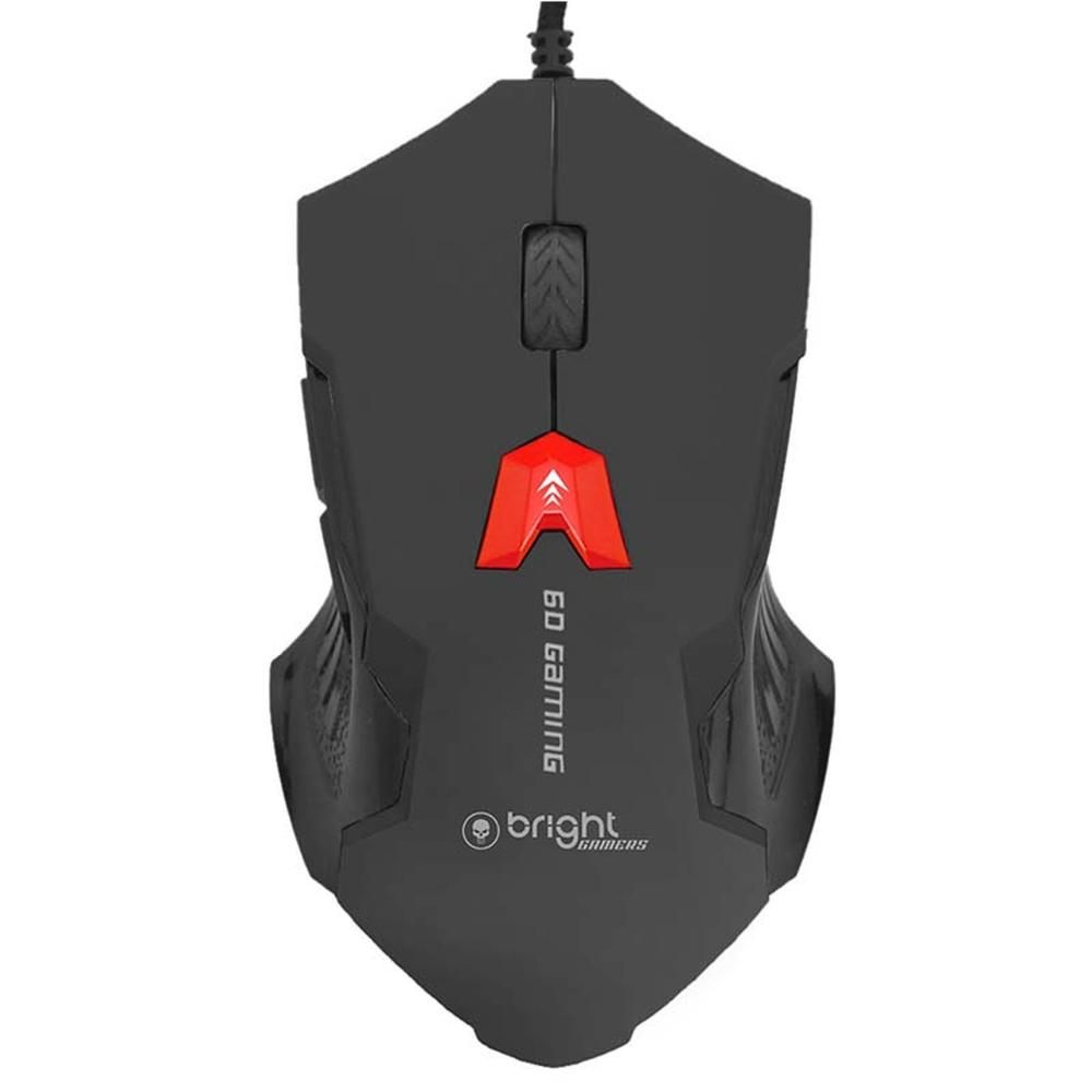 Kit Gamer Teclado Mecânico Mouse Gamer Headset 7.1 Mouse Pad  - BRIGHT