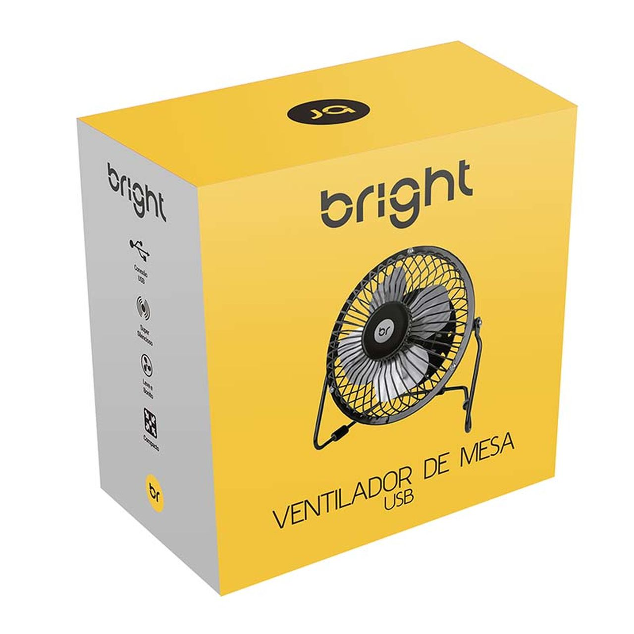 Mini Ventilador USB com design silencioso 336 - Bright