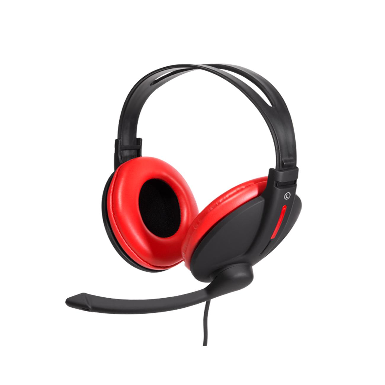 Mouse e Teclado Sem Fio Teclas Redondas c/ Webcam e Headset