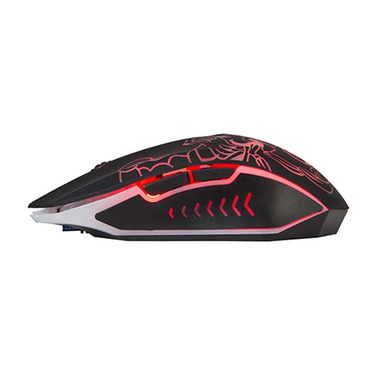 Mouse Gamer Luminoso 7 cores M316 Scorpion