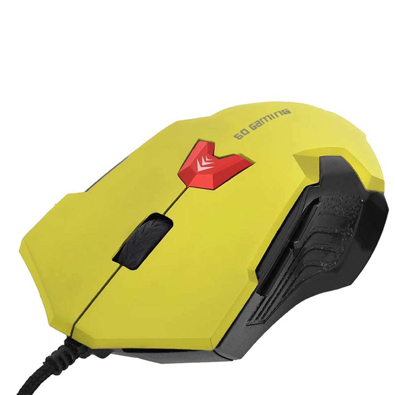 Mouse Gamer USB Amarelo 375 - Bright