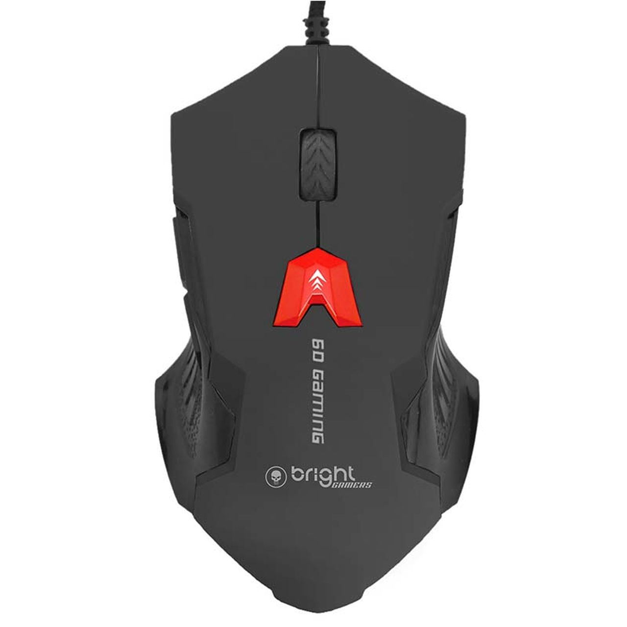 Mouse Gamer USB Preto 6 botões 462 - Bright