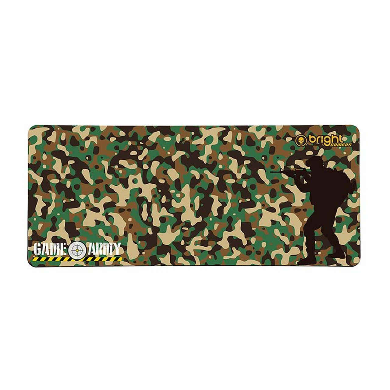 Mouse Pad Gamer Grande 70 x 30cm Big Army Bright 458