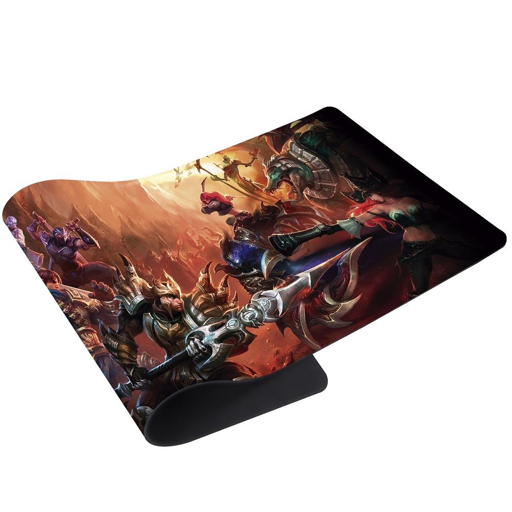 Mousepad Gamer Grande 69x28cm Fantasy LOL 552BR Bright