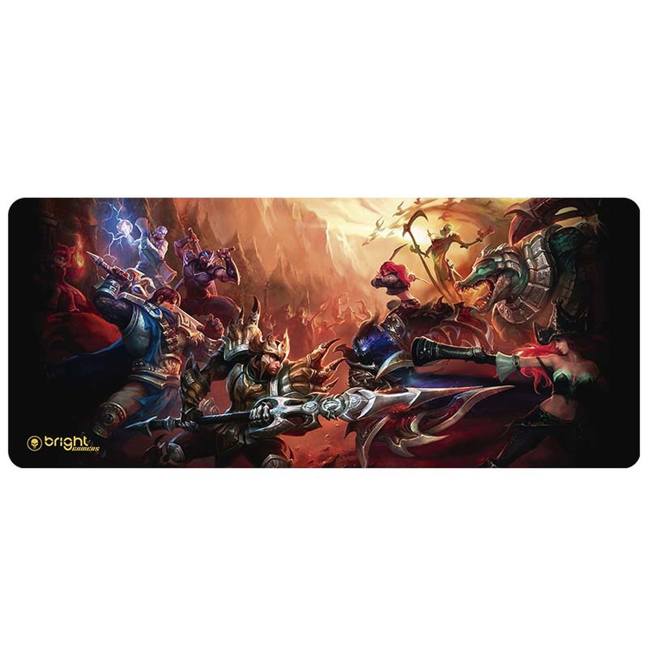 Mouse Pad Gamer Big - Fantasy 552 - Bright