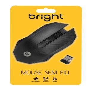 Mouse Sem Fio Áustria Preto 053 - Bright