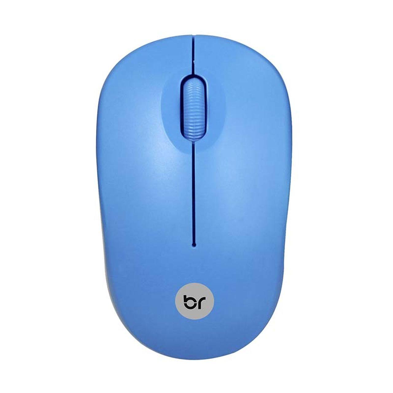 Mouse Sem Fio 2.4Ghz Usb 800 Dpi Azul Bright 475