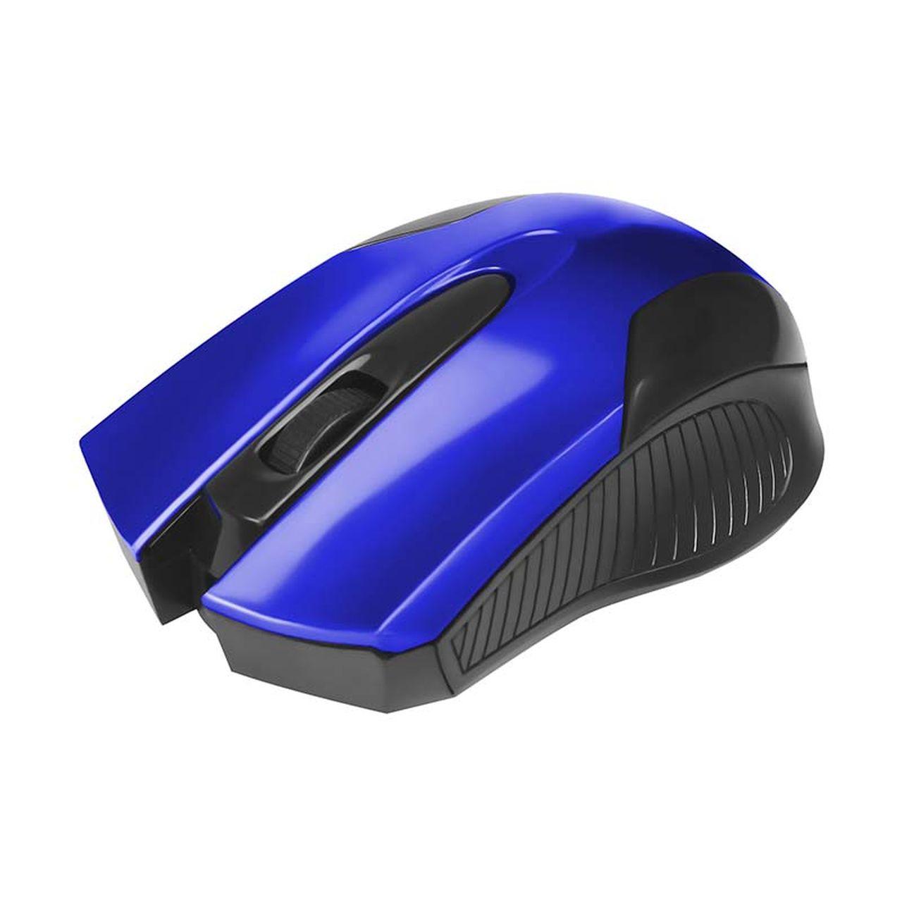 Mouse Óptico Usb 800 Dpi Preto com Azul Bright 379