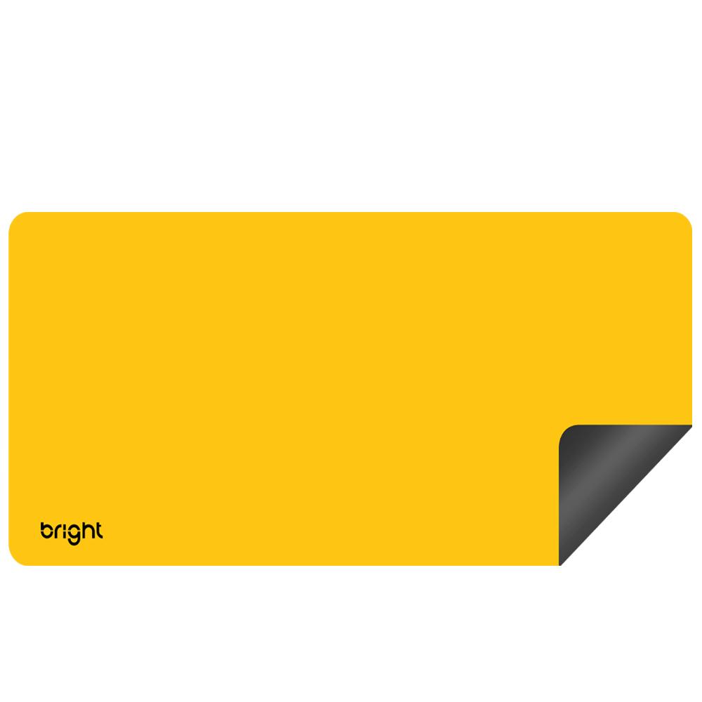 MousePad Gamer Extra Grande Amarelo 69x28cm Antiderrapante  - BRIGHT