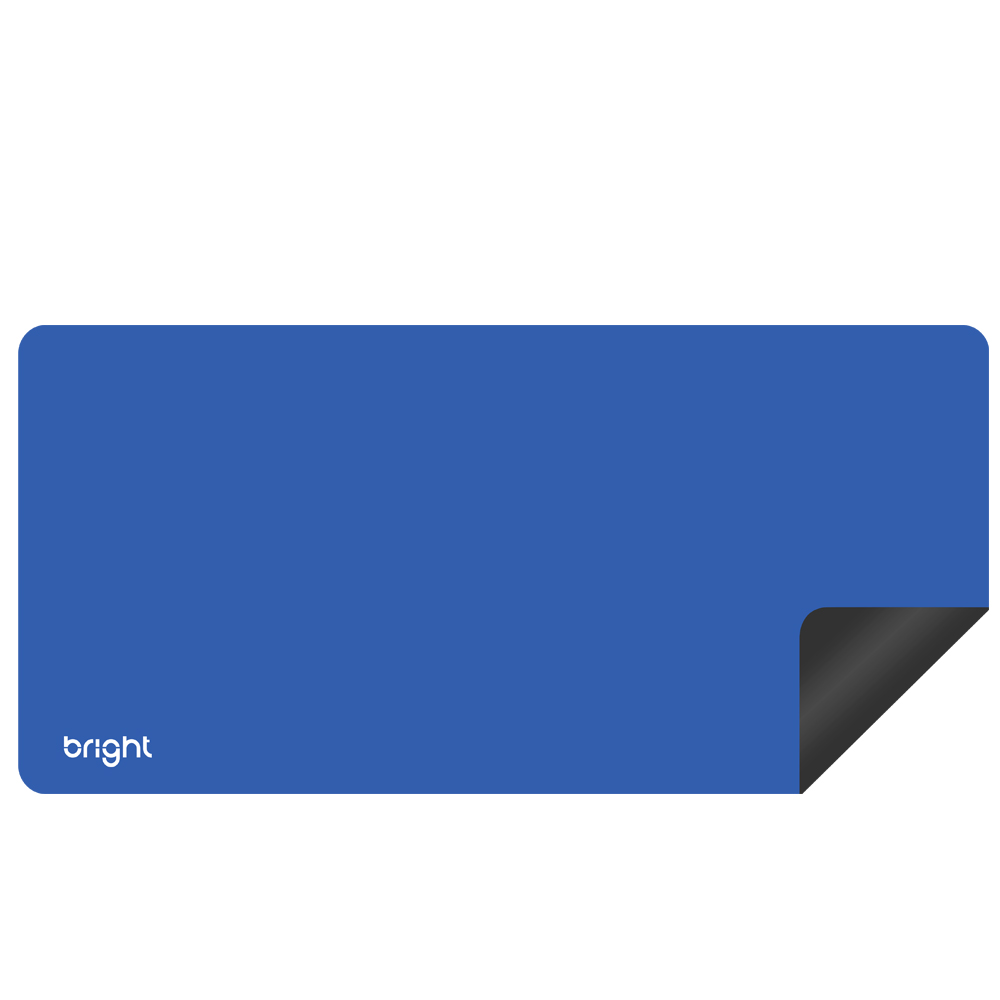 MousePad Gamer Extra Grande Azul 69x28cm Antiderrapante  - BRIGHT