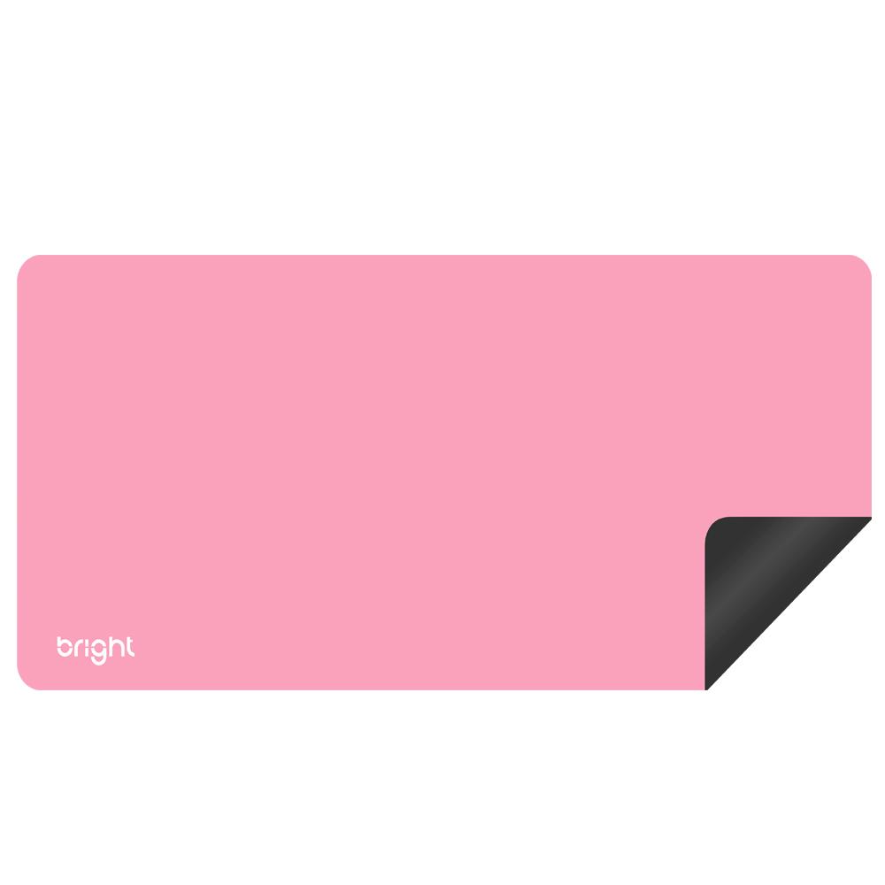 MousePad Gamer Extra Grande Rosa 69x28cm Antiderrapante  - BRIGHT