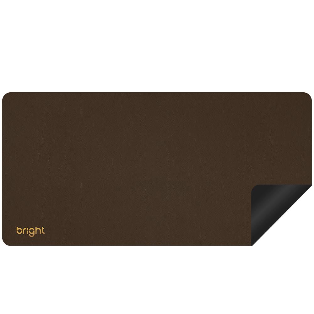 MousePad Premium Extra Grande Marrom 77x35cm Antiderrapante  - BRIGHT