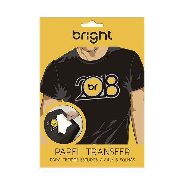 Papel Transfer para Tecido Escuro 5 folhas 020 - Bright