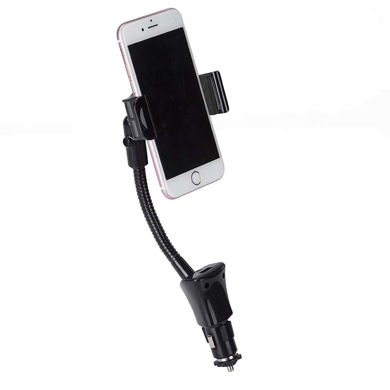 Suporte Veicular Com Carregador Gps Smartphone Bright 431