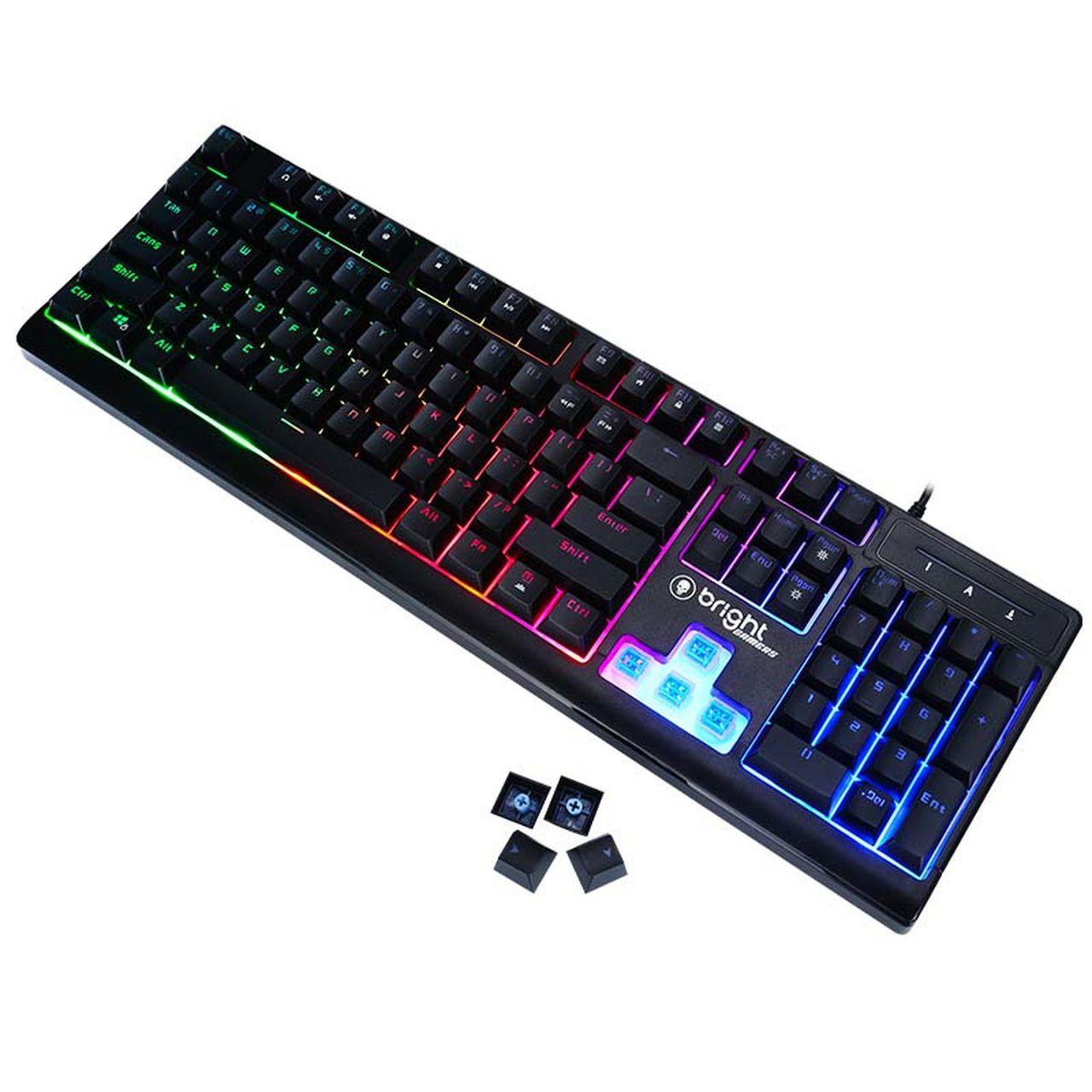Teclado Gamer Semi Mecânico 0541 - Bright