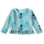 Camiseta Praia Infantil Abacaxis Turquesa Tip Top