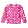 Camiseta Praia Infantil Cisnes Rosa Tip Top