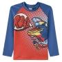 Camiseta Praia Infantil Dino Roar Azul Pingo Lelê