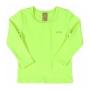 Camiseta Praia Infantil Verde Limão Up Baby