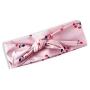 Faixa de Cabeça Infantil Cerejas Rosa Tip Top