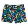 Shorts Praia Infantil Dino Rabisco Marinho Tip Top
