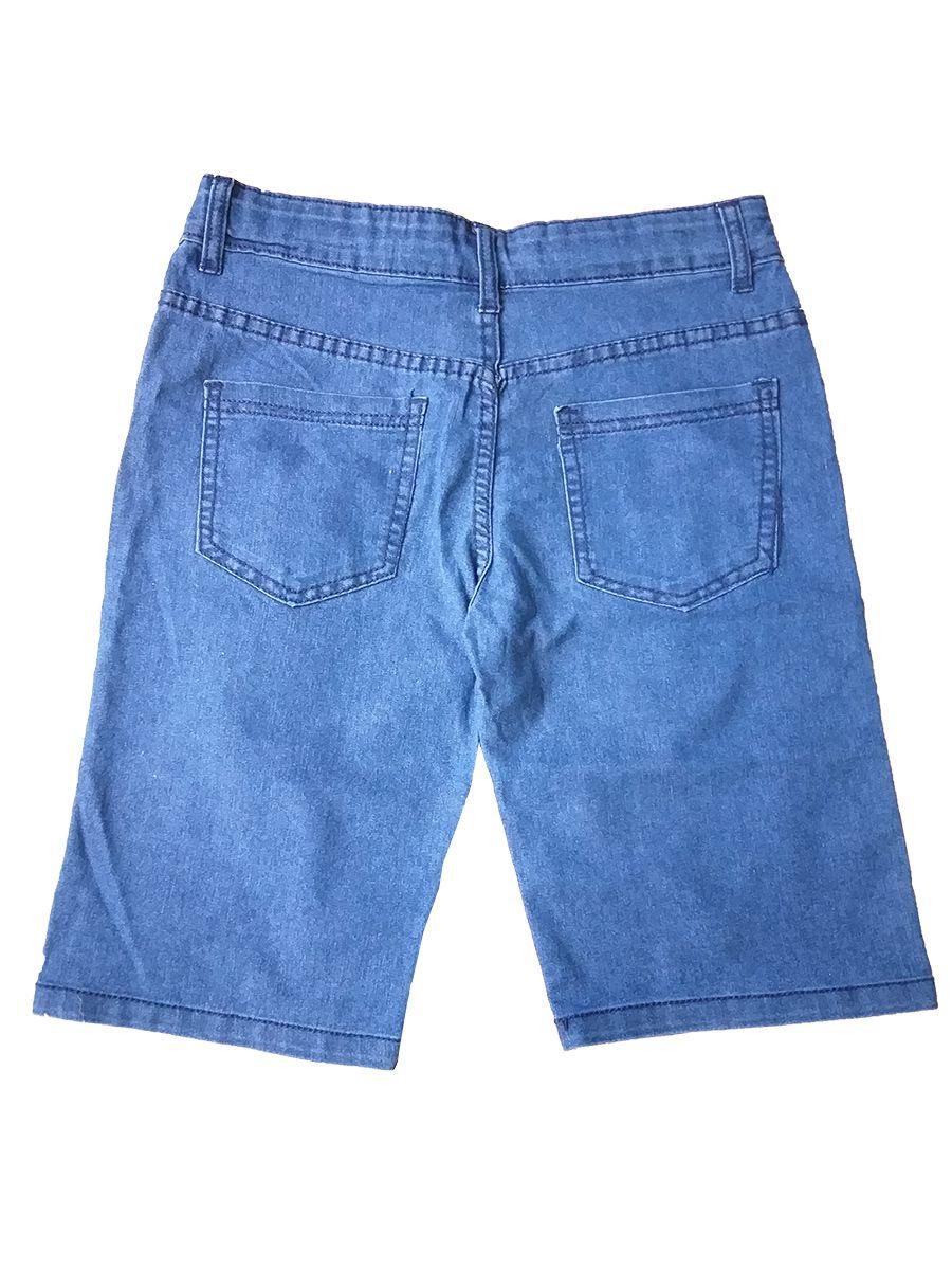 Bermuda Jeans Infantil Child Face