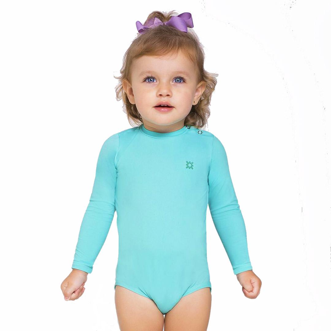 Body Praia Infantil Azul Céu UV.LINE