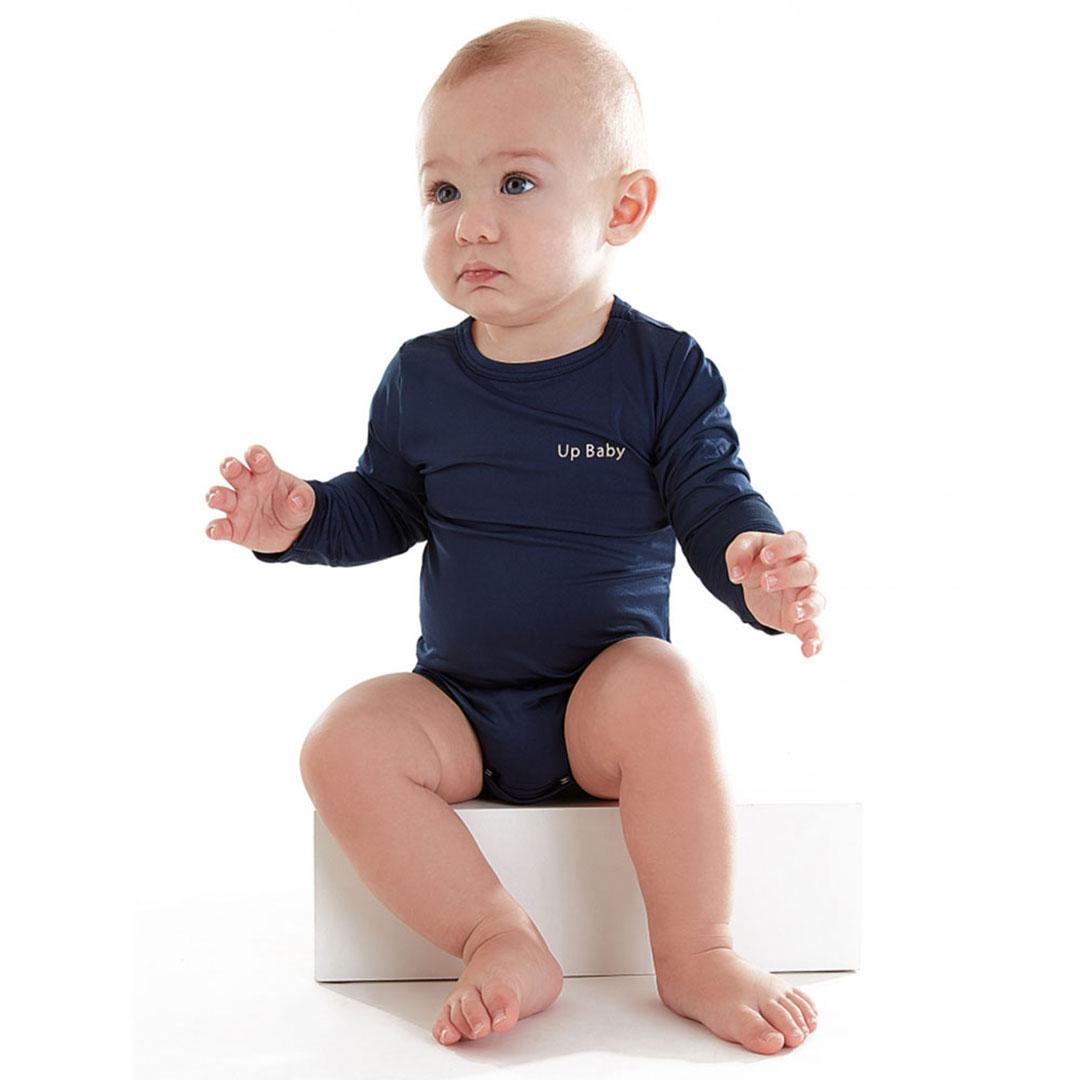 Body Praia Infantil Marinho Up Baby