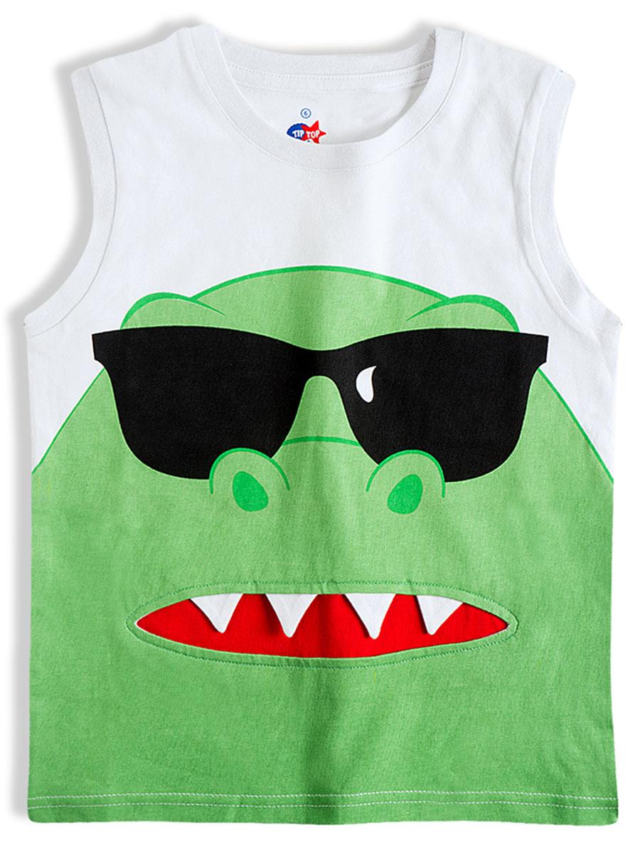 Camiseta Machão Infantil Dino Verde Tip Top