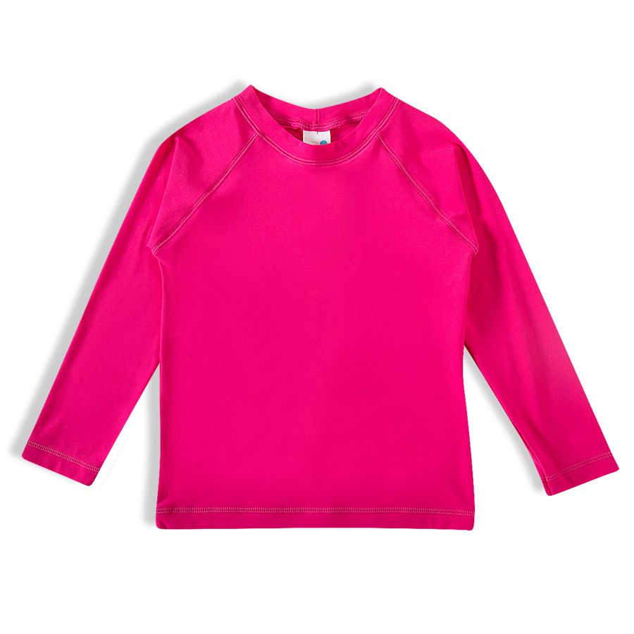 Camiseta Praia Infantil Pink Tip Top