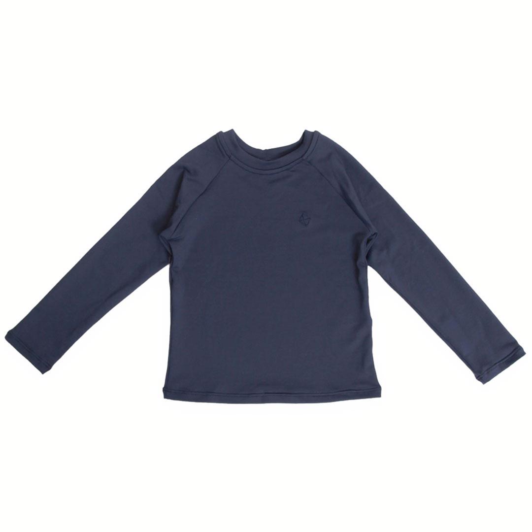Camiseta Praia Infantil Proteção UV80 Marinho Pipa