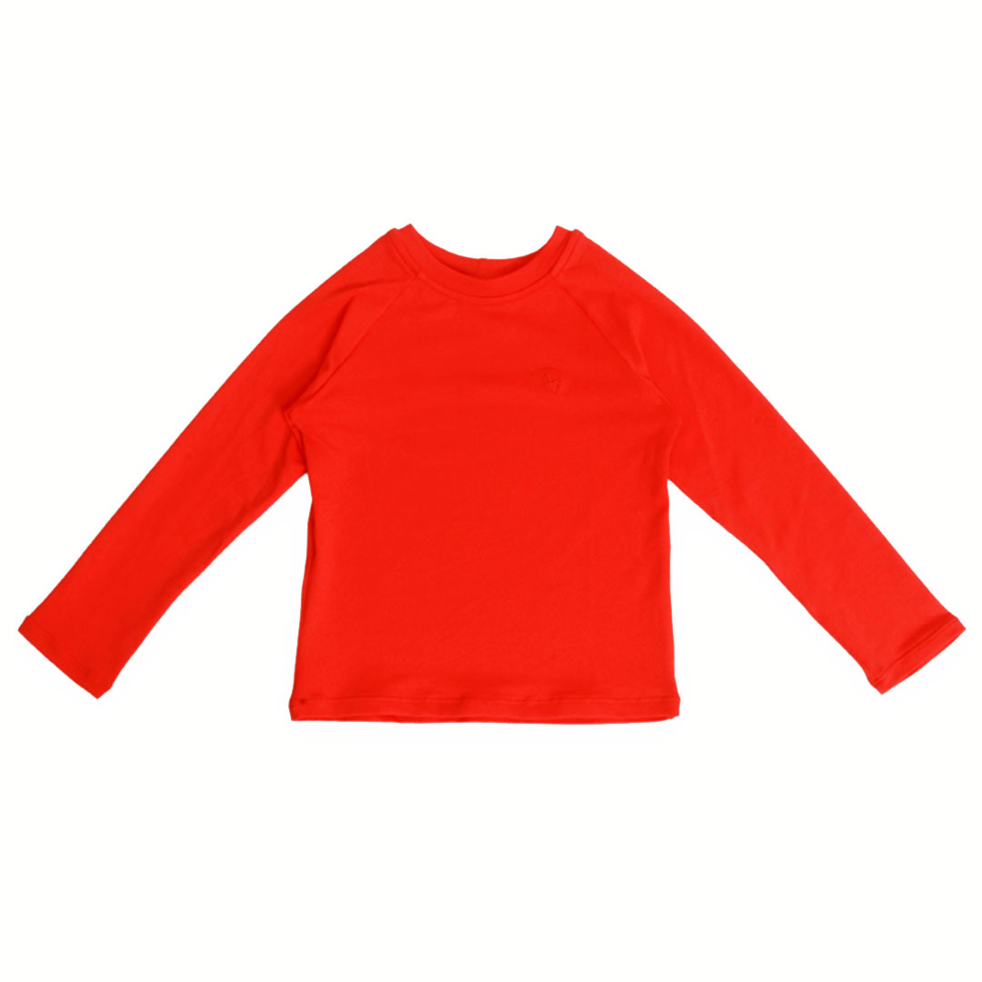 Camiseta Praia Infantil Proteção UV80 Pitanga Pipa