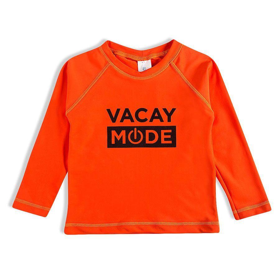 Camiseta Infantil Praia Laranja Tip Top