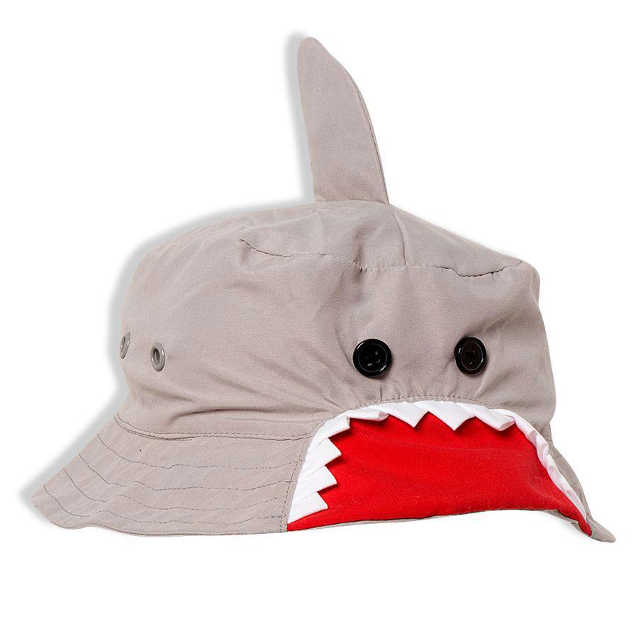 Chapéu Infantil Tubarão Cinza Tip Top
