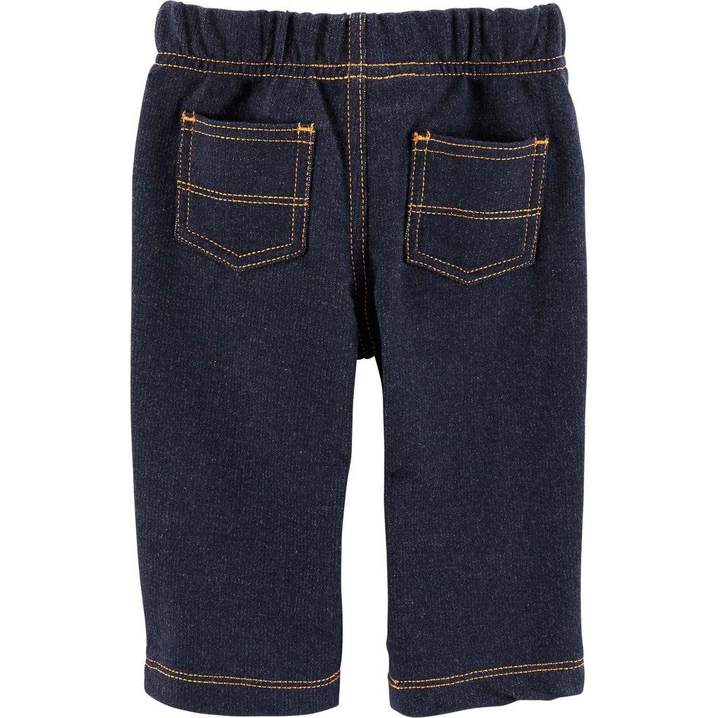Kit Body Polo e Calça de Malha Jeans Carter´s